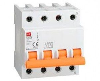 BKN-b 3P+N C10A  (10kA) Автоматический выключатель модульный