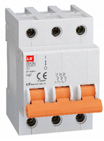 BKN-b 3P D63A  (10kA) Автоматический выключатель модульный